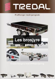 Brosjyre med TREDAL-produkter